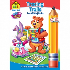 Tracing Trails Pre-Writing Skills Workbook (02177/02RPI17)