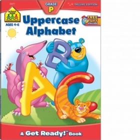 Uppercase Alphabet Deluxe Edition Workbook (02271/07DPI12)