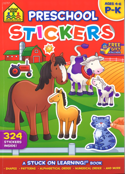Preschool Stickers (02757/05RPI15)