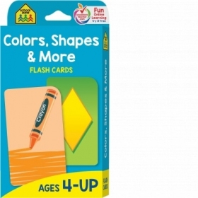 School Zone Flashcards Colors Shapes and More (04011/03KP17)