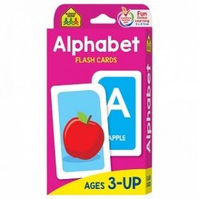 School Zone Flashcards Alphabet(04001/06KP17)