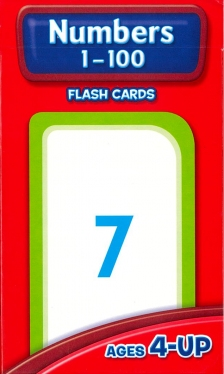 School Zone Flashcards Numbers 1-100 (04005/03MPS10)