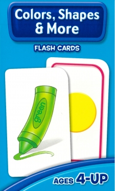 School Zone Flashcards Colors Shapes and More (04011/11MPS11)