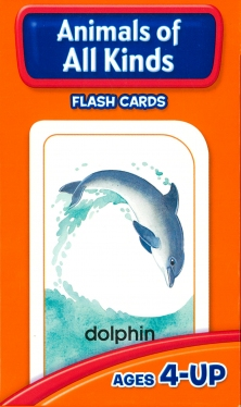 School Zone Flashcards Animals of All Kinds (04012/06MPS11)