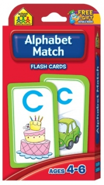 School Zone Flashcards Alphabet Match (04021/11MPS11)