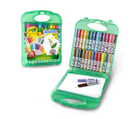 Washable Pip Squeaks Markers Storage Case 25 ケース付き ピップ スクイークマーカー 25色セット*