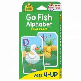 School Zone Flashcards Go Fish Alphabet(05014/06KP16)