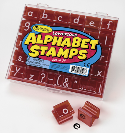 Alphabet Stamps Lowercase  アルファベットスタンプ 小文字