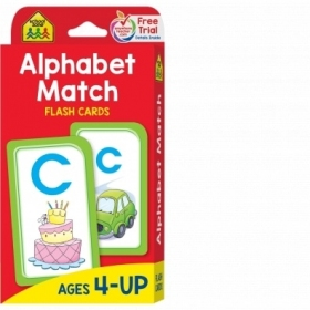 School Zone Flashcards Alphabet Match (04021/02EPI17)