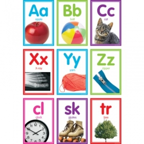 Colorful Photo Alphabet Cards Bulletin Board (TCR8798)