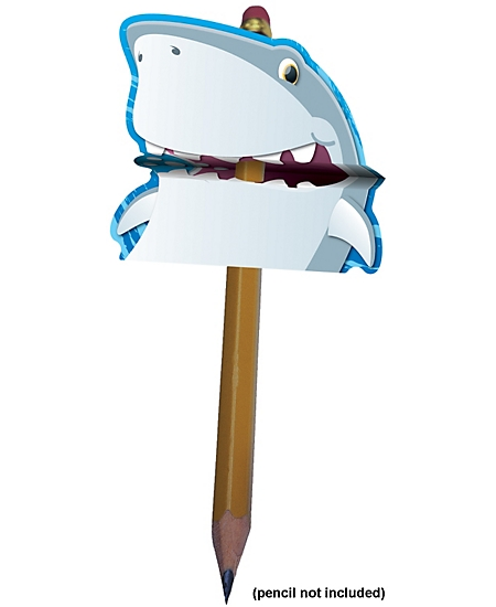 Pencil Toppers: Shark