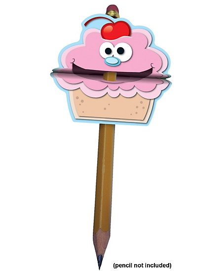 Pencil Toppers: Cupcake