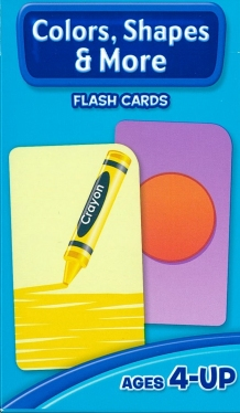 School Zone Flashcards Colors Shapes and More (04011/10EPI15)