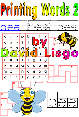 Printing Words Level 2 Worksheets - (Single User Download Version)