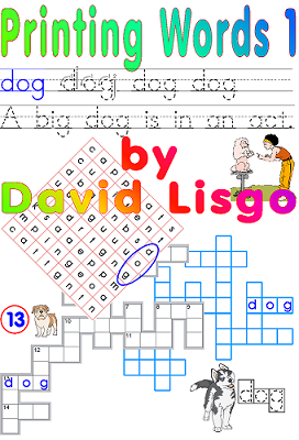 Printing Words Level 1 Worksheets - (Single User Download Version)