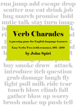Verb Charades 2 With Reasons - (Single User)