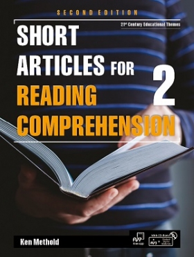 Short Articles for Reading Comprehension 2nd edition 2 Student Book with Student Digital Materials CD