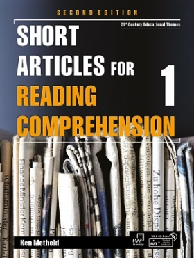 Short Articles for Reading Comprehension 2nd edition 1 Student Book with Student Digital Materials CD