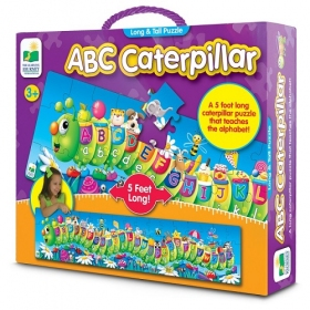 Long & Tall Puzzles - ABC Caterpillar