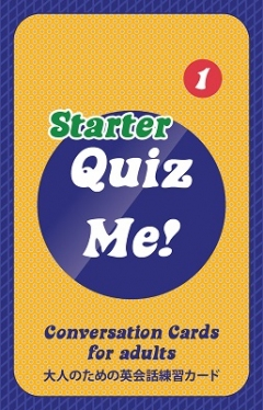 Quiz Me! Conversation Cards for Adults - Starter, Pack 1