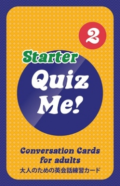 Quiz Me! Conversation Cards for Adults - Starter, Pack 2