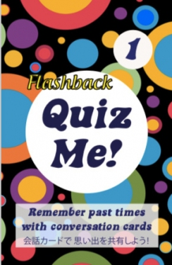 Quiz Me! Flashback Conversation Cards - Pack 1