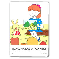 IIEEC Picture Card Series Action Cards Level D Teacher's Card
