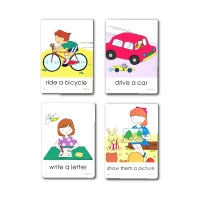 IIEEC Picture Card Series Action Cards Student's Set (A-D)