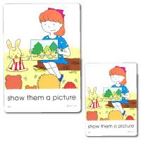 IIEEC Picture Card Series Action Cards Level D Teacher & Student's Set