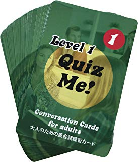 Quiz Me! Conversation Cards for Adults - Level 1, Pack 1 (Latest Edition)