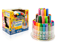 Washable Pip Squeaks Telescoping Marker Tower 50 ピップ スクイークマーカー タワー 50色*