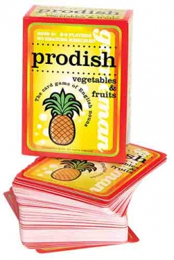 ESL vocabulary games - nouns - Prodish (vegetables & fruits)