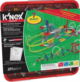 K'NEX Education Intro to Simple Machines Wheels Axles & Inclined Planes Set