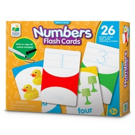 Write & Erase Flash Cards - Numbers