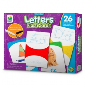 Write & Erase Flash Cards - Letters