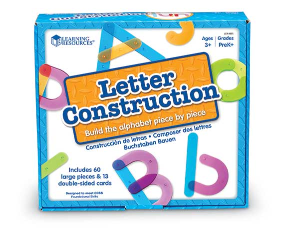 Letter Construction Activity Set  文字を作ろう! アクティビティセット