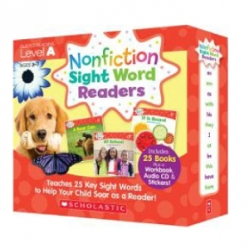Nonfiction Sight Word Readers Level A (25 Books & CD)