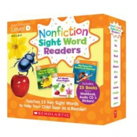 Nonfiction Sight Word Readers Level D (25 Books & CD)