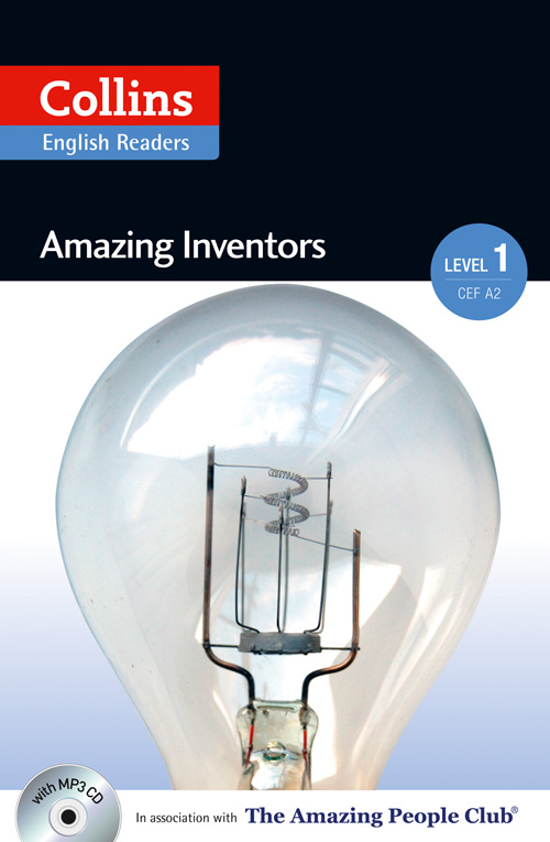 Collins Amazing People ELT Readers Level 1 - Amazing Inventors (with MP3 CD)