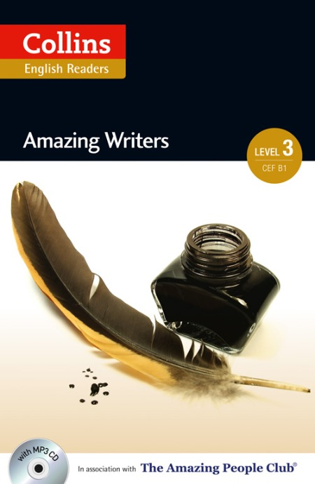 Collins Amazing People ELT Readers Level 3 - Amazing Writers (with MP3 CD)