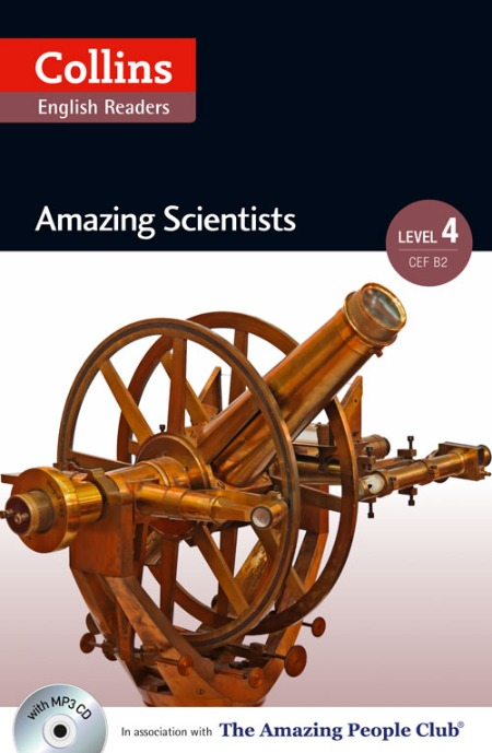 Collins Amazing People ELT Readers Level 4 - Amazing Scientists (with MP3 CD)