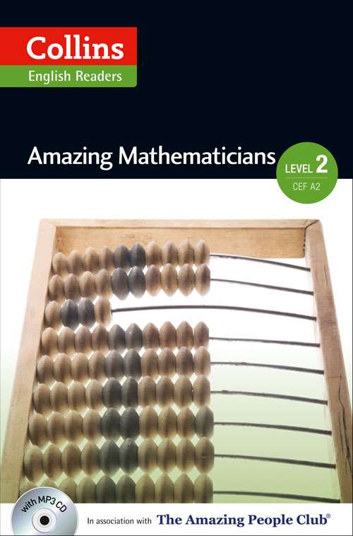Collins Amazing People ELT Readers Level 2 - Amazing Mathematicians (with MP3 CD)
