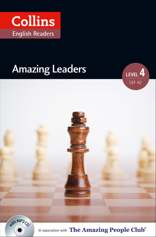 Collins Amazing People ELT Readers Level 4 - Amazing Leaders (with MP3 CD)