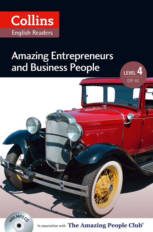 Collins Amazing People ELT Readers Level 4 - Amazing Entrepreneurs & Business People (with MP3 CD)