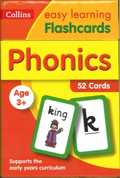 Phonics (Collins Easy Learning Flashcards)
