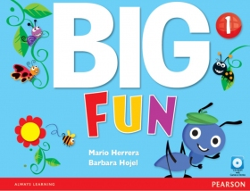 Big Fun 1 Student Book with CD-ROM