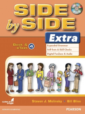 Side by Side 4 Extra Edition Student Book and eText with CD