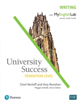 University Success Writing Transition Student Book with MyEnglishLab