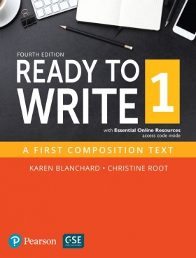 Ready to Write 1: A First Composition Text (4th Edition) Student Book with Essential Online Resource