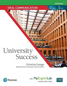 University Success Oral Communication Advanced Student Book with MyEnglishLab